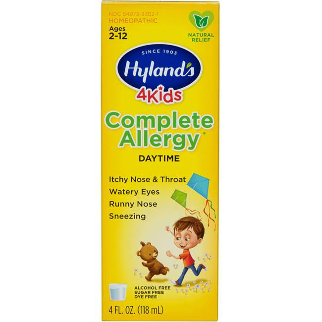 Hylands 4Kids Complete Allergy, Daytime - 4 fl oz