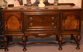 Image Of Long Buffet Antique Dining Room Furniture 1920