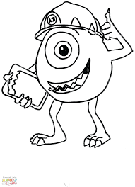 Monster High Coloring Pages Pdf Moshi Monsters Printable Book Image Of Mike From Inc 13 Wishes