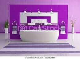 lila zeitgenössische toilette canstock