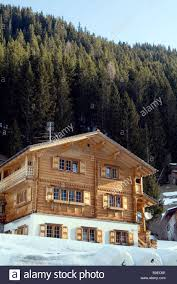 100 Log Cabins Switzerland Swiss Ski Lodge Chalet Resort Building Wooden Alps Switzerland Snow
