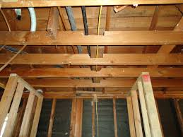 Ceiling Joist Span For Drywall by I Decided To Destroy A Wall With A Hammer To Open A Room Up Diy