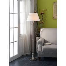 Ore International Glass Floor Lamp Satin Nickel by Kenroy Home 30438bs Spyglass Floor Lamp Brushed Steel Tools