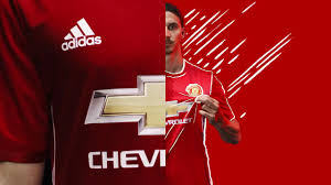 Clubs Pre Season Tour In China Made By Adidas And Featuring Chevrolet As Sponsor The Manchester United 2016 17 Jersey Is Already Available To Buy