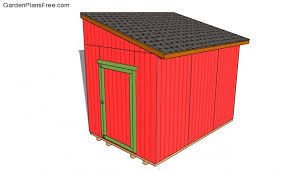 8x6 Storage Shed Plans by Lean To Shed Plans Free Free Garden Plans How To Build Garden
