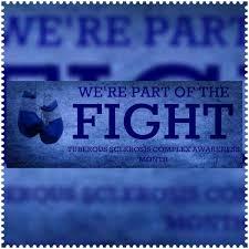tuberous sclerosis pride bumper bumper sticker