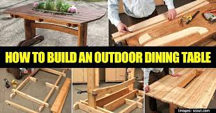 build outdoor dining table u2013 ufc200live co