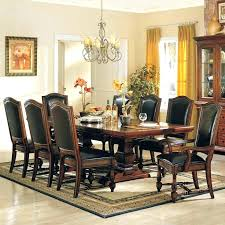 Baker Barbara Barry Sideboard Dining Room Table Furniture Mahogany With Three Leaves For Sale