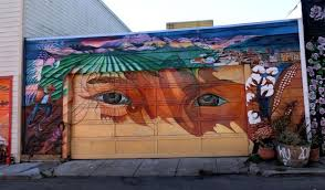 Balmy Alley Murals Mission District by Where To Find Street Art In San Francisco The Occasional Traveller