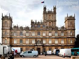 Highclere Castle Ground Floor Plan by Downton Abbey
