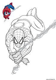 Coloriage Batman Vs Spiderman Imprimer Spiderman Coloring Pages
