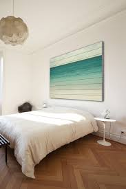 Beachy Headboards Beach Theme Guest Bedroom With Diy Wood by Marmont Hill Inc Wonderful World White Wood Wall Art