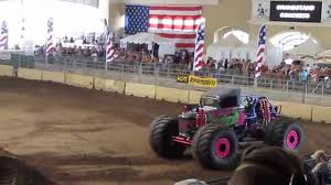 Monster Truck Show Wild Flower At San Diego Fab Fair 2014