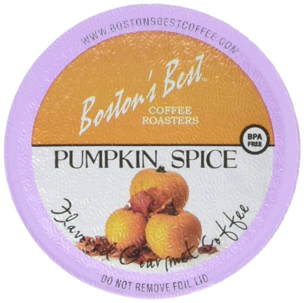 Boston's Best Single Serve Coffee, Pumpkin Spice,12.6 oz, 42 Count