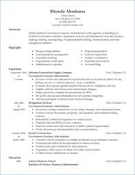Resume Government Jobs
