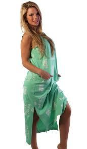 ingear beach long cotton tank dress ebay