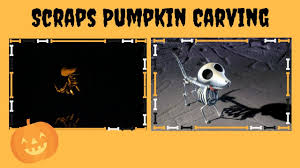 Scraps Corpse Bride Pumpkin Stencil by Scraps Pumpkin Carving Random Monday Ep 18 Youtube