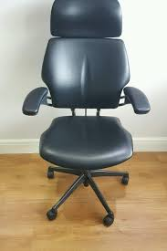 Black Leather Humanscale Freedom High Back Office Chair Humanscale Freedom Green High Back Ergonomic Adjustable Freedom Executive Armchair 80hbsyach Refurbished Humanscale High Back Task Chair Black Office The Reviewed Thrones 12 Best Ergonomic Chairs Of 2018 Guidereview Highback Headrest Gel Arms New Casters In Poole Dorset Gumtree Leather Day Chair Rehab Fabric Healthcare Sharkoon Elbrus 1