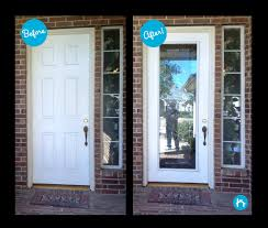 Masonite Patio Door Glass Replacement by Backyards Adding Wrought Iron Decorative Door Glass For Natural