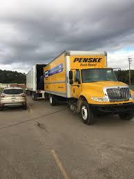 100 Penske Bucket Truck Rental NHS Semi Loading Lutheran Westland