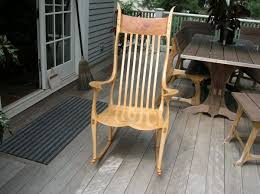 Maloof Rocking Chair Joints maple rocker sam maloof inspired finewoodworking