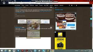 mtg tappedout net virtual deck builder free youtube