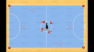 technique de foot en salle circuit physique et technique de futsal vidéo logiciel