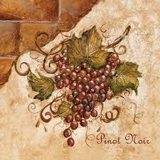 Wine And Grapes Kitchen Decor by Tre Sorelle Art For Home Decor