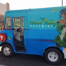 Green Fairy Pastries - Tucson Food Trucks - Roaming Hunger The Electric Food Truck Revolution Green Action Centre Marijuana Food Truck Makes Its Denver Debut Eco Top Stock Photo Picture And Royalty Free Image Whats On The Menu 12 Trucks At Guthrie Wednesdays Eat Up Bonnaroo Expands And Beer Tent Options For 2015 Axs Red Koi Lounge Grillgirl Guide Acres Ice Cream Buffalo News Banner Or Festival Vector Seattle Shawarma Food Reggae Chicken Archives Bench Monthly
