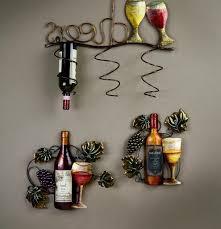 Decor Kitchen Ideas Themes Wall Wine