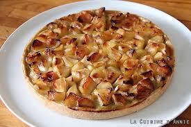 cuisine tarte aux pommes recette tarte pommes rhubarbe la cuisine familiale un plat une