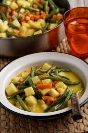 cuisine au lait de coco recette légumes sautés au curry et coco