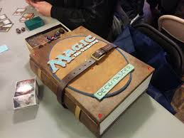 Mtg Sliver Deck Box by Someone Had A Sweet Magic Box At Fnm Magic Cards