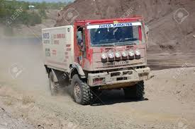 IVECO Rally Truck At Offroad Competition Stock Photo, Picture And ...