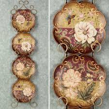 Natures Beauty Decorative Ceramic Plate Set
