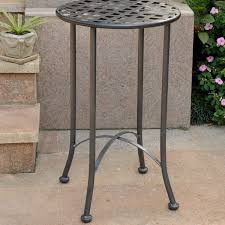 International Caravan Mandalay 16 inch Patio Side Table Free