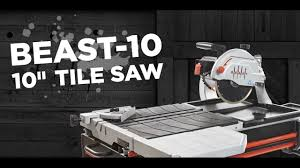 Ridgid Tile Saw Wts2000l by Lackmond Beast 10 U201d Wet Tile Saw Sales Training Youtube
