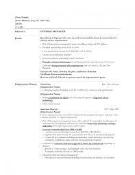basic objectives for resumes innovational ideas general objectives for resumes 14 sle