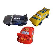 Disney Cars 3 17 Plush Backpack Lightning McQueen