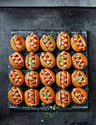 Halloween Hotdog Fingers by 20 Mini Posh Dogs M U0026s