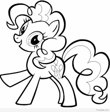 My Little Pony Coloring Pages On Free Printable Owl Pinkie Pie Cute Of