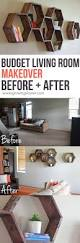 Living Room Makeovers Before And After Pictures by Budget Living Room Makeover Before And After How To