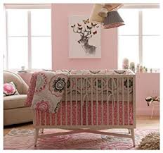 Amazon Dwellstudio Crib Set Zinnia Rose Discontinued by