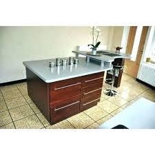 prise pour ilot central cuisine meuble ilot central cuisine ilot de cuisine landais plateau inox
