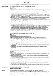 Analyst / Senior Financial Analyst Resume Samples | Velvet Jobs Analyst Resume Templates 16 Fresh Financial Sample Doc Valid Senior Data Example Business Finance Template Builder Objective Project Samples Velvet Jobs Analytics Beautiful Mortgage Atclgrain Skills Entry Level Examples Credit Healthcare Financial Analyst Resume Pdf For
