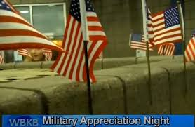 Northern Lights Arena Full House in Honor of Military Appreciation