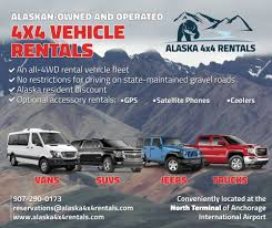 Alaska 4x4 Rentals - 35 Photos - Car Rental - 5000 W International ... Capps Truck And Van Rental Enterprise Rentacar Competitors Revenue Employees Owler Seattle Budget Wa Boom Midnightsunsinfo 5th Wheel Fifth Hitch Rent A Car Review From News Videos Kirotv Renta De Autos A Bajas Tarifas Mxico Limo Rentals Bozeman Mt Limousine 59771 Penske Semi Coupons For Uhaul Rental Trucks Kanita Hot Springs Oregon Is Now Open Business In Brisbane Australia