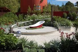 Brilliant Mediterranean Green And Lush Garden Design With Detailed Shrubbery Free Home Designs Photos Stecktgeschichteinfo