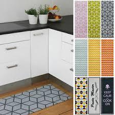 details zu küchenläufer teppichläufer küche pasta grün rosa orange rutschfest waschbar