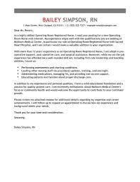 Professional Job Cover Letter Examples Nursing